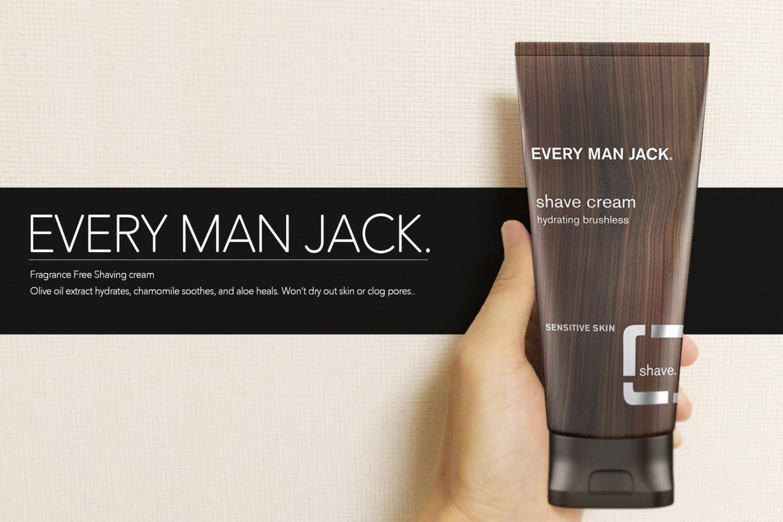 EVERY MAN JACK」シェービングクリーム