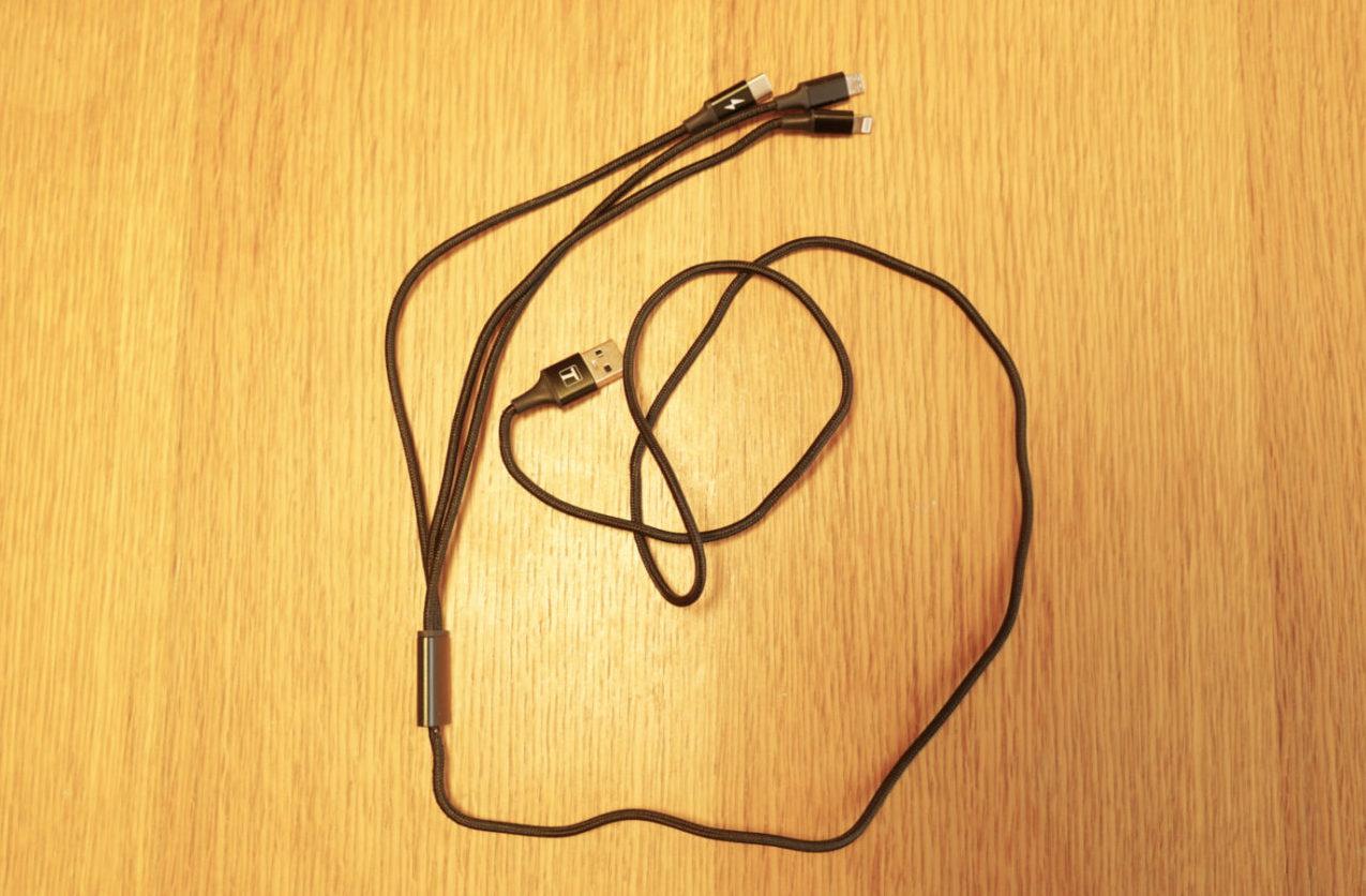 【3in1】 充電ケーブル