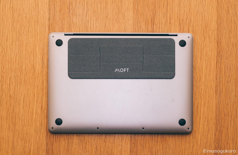 「MOFT mini」の背面