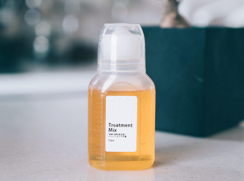 髪のNMF原料混合液」トリートメントの素