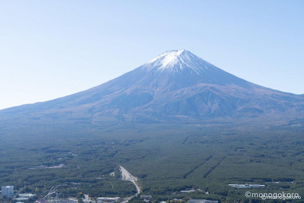 天上山山頂からの富士山
