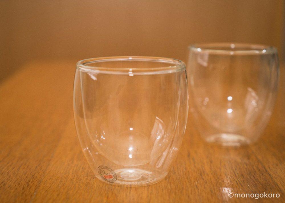 ボダムのダブルウォールグラス「PAVINA(パヴィーナ)」透明のダブルグラス