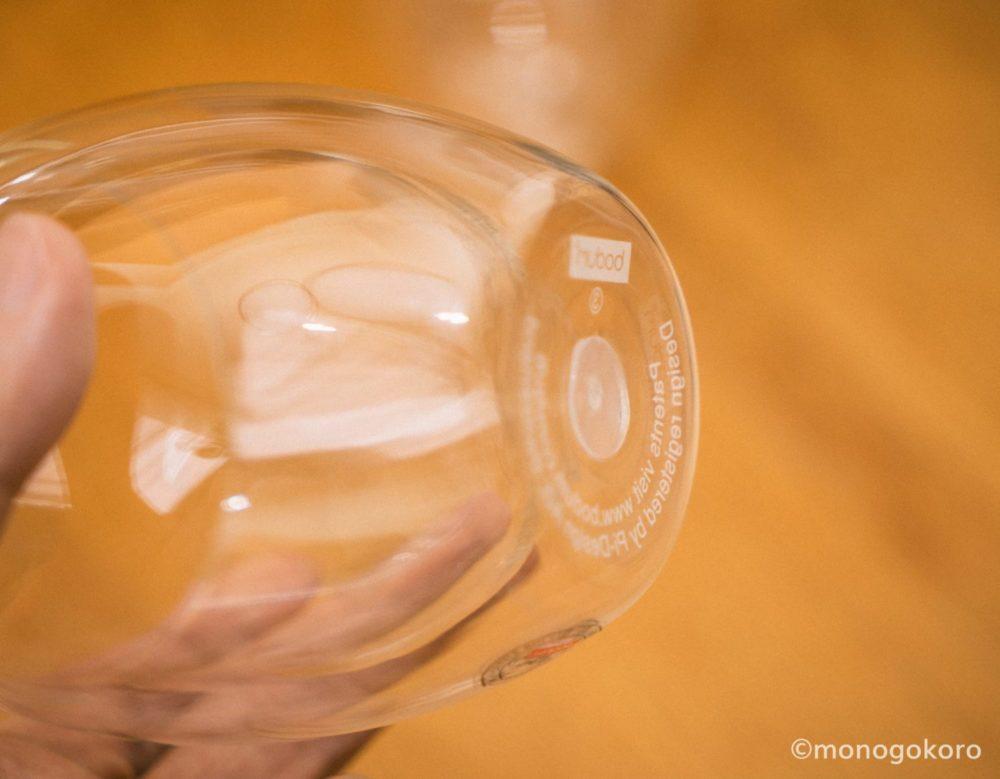 ボダムのダブルウォールグラス「PAVINA(パヴィーナ)」側面
